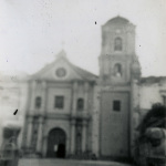 Manila A-4 St. Augustine's, Intramuros, showing the wing ripped off.