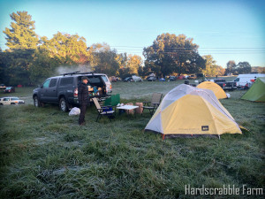 Camping at Overland Expo 2014
