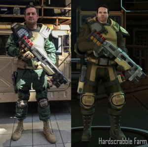 Cosplay vs In Game Model