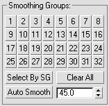 SmoothingGroups