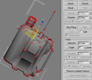 Weld Selected Vertices