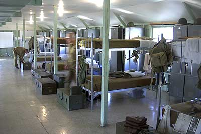 2nd Floor of the Barracks