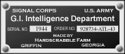 GI Intelligence Dept