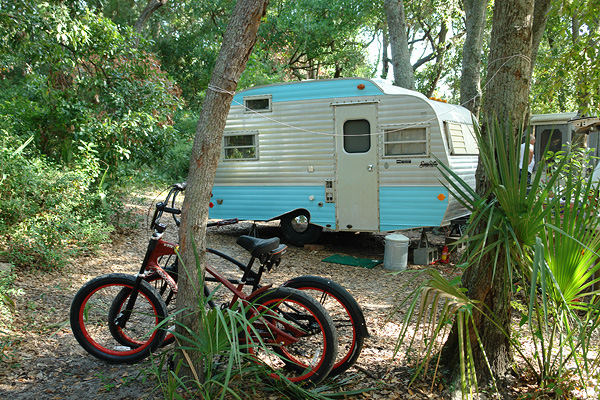Camper at Tybee Island