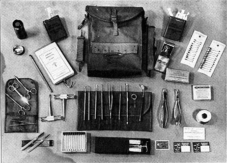 Dental Officer kit contents